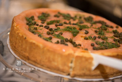 Savory Salmon Cheesecake